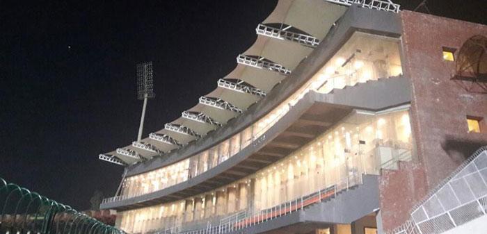Tensile Fabric stadium shades in Pakistan