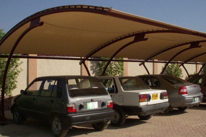 Car PArk Shades FWO Headquaters