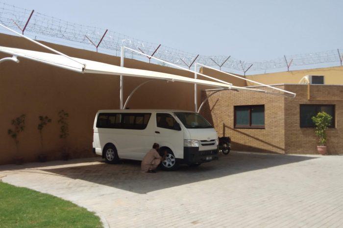Car Parking Shade in Rawalpindi, Pakistan